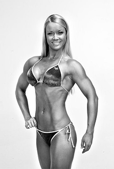 Bikini for short muscular women #1