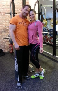 Me and the World Champion in Bikinifitness, the awesome Christina Strom Fjaere